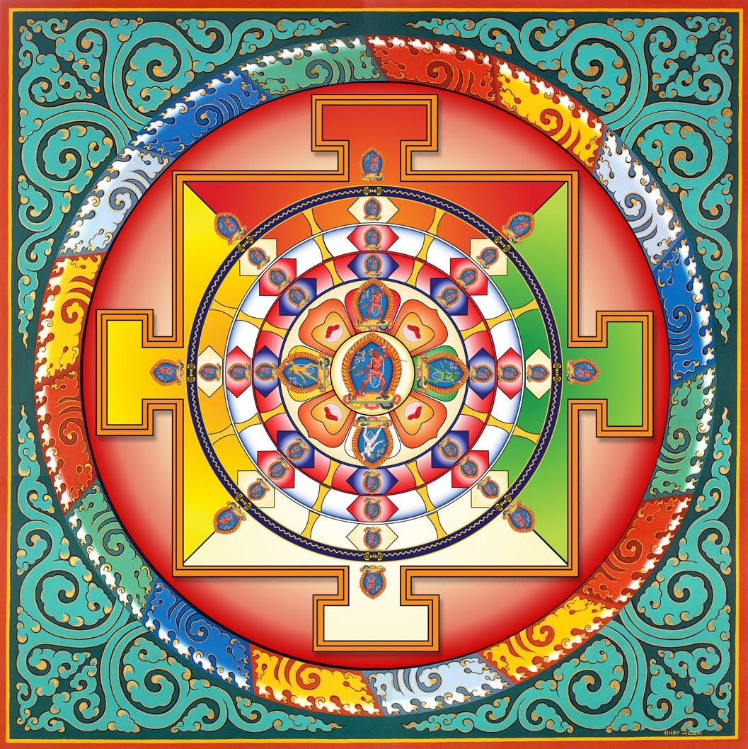 A mandala in Tibetan Vajrayana meditation serves as a kasina  (indiebookevent.com) 9605d3c75c6