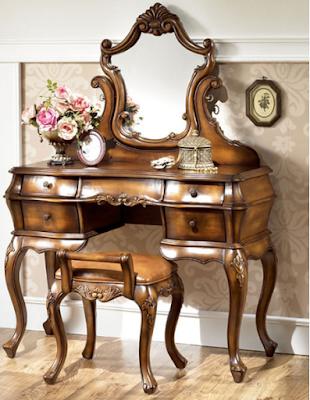 gambar meja rias klasik