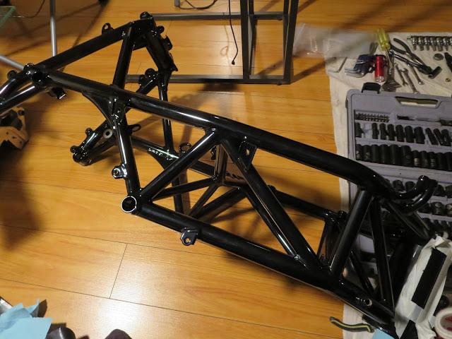 Ducati 916 Powdercoated Frame