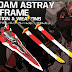 BTF: RG 1/144 Gundam Astray Red Frame Kai Optional Equipment Parts - Release Info