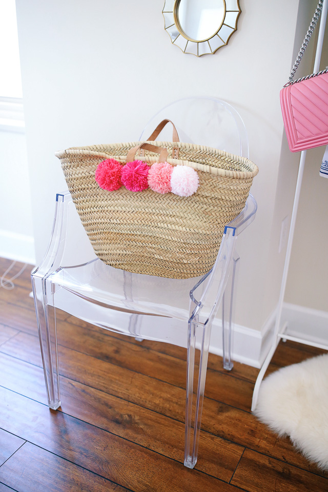 This tote is a DIY that looks JUST like the Eliza Gran one - for a third of the price!
