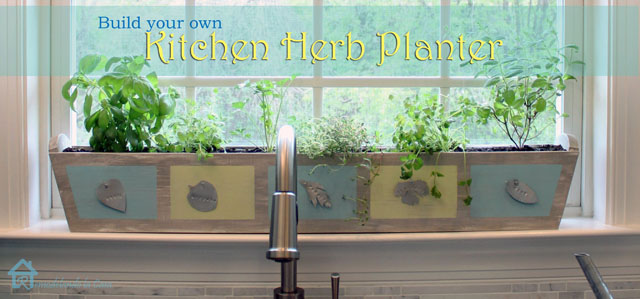 Diy Kitchen Herb Planter Remodelando La Casa