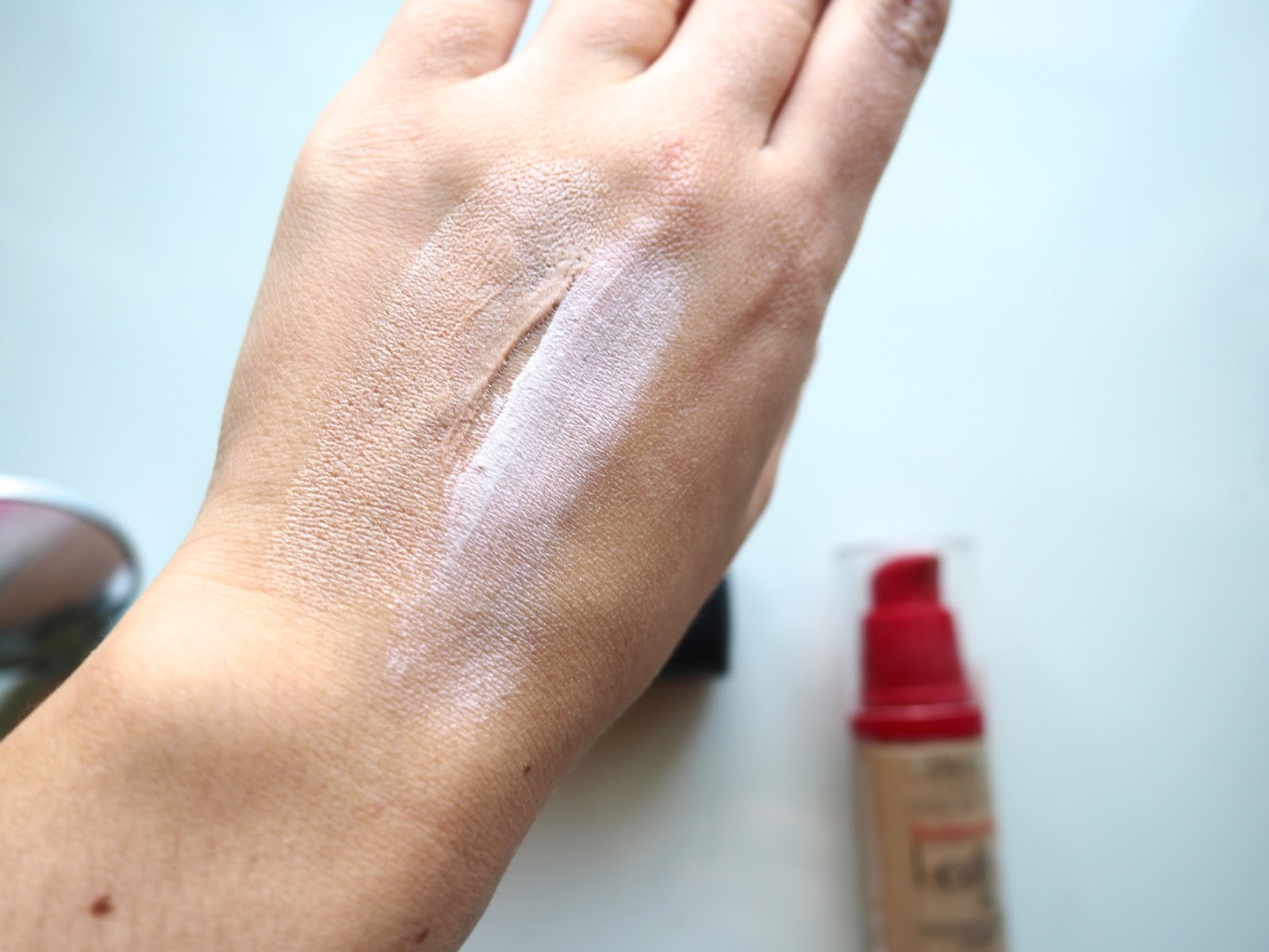 It's Cultured Illuminators Mac Strobe Cream and Rimmel get up and glow swatches
