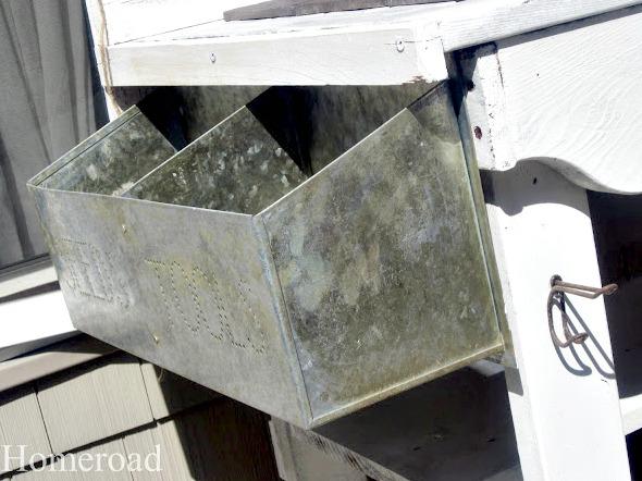 galvanized seed holder