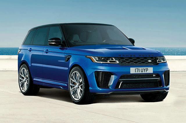Range Rover Sport SVR Specs