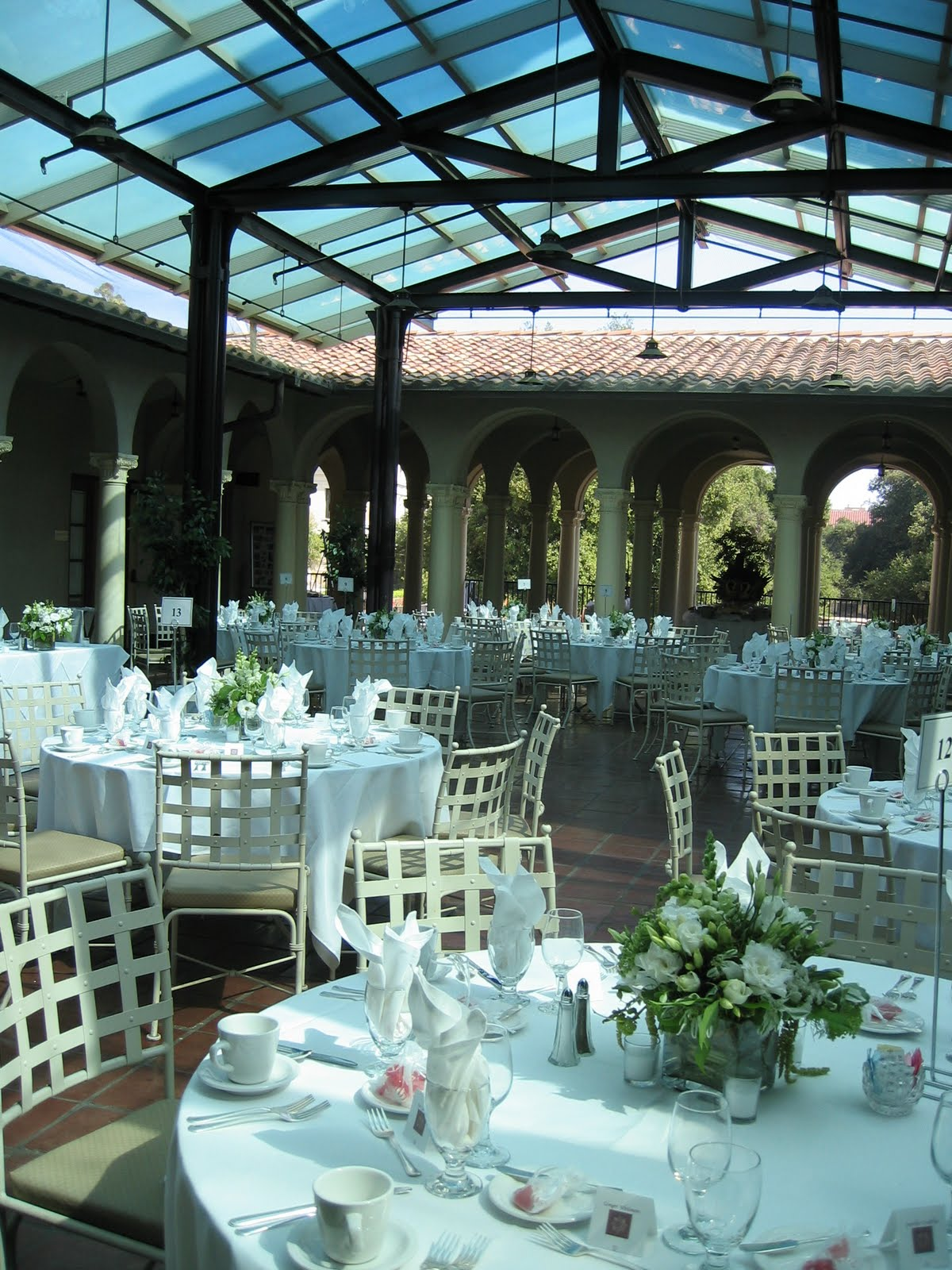 Tall Back Dining Chairs Chair Cover And Sash Hire Aberdeen My Journey To Plan A Incredible Socal Wedding On Budget: Venue #38: Occidental College (eagle ...