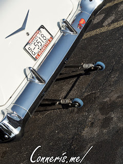 Chevrolet Bel Air Wheelie Bar