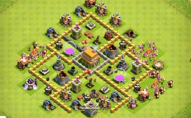 good level 6 base design