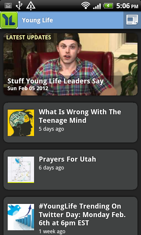 The Young Life Leader Blog: February 2012