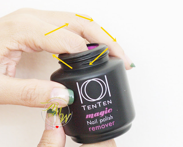 a photo of TenTen Magic Nail Polish Remover