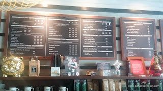 Bo's Coffee Ormoc Menu Board