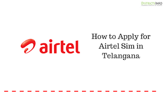 How to Apply for Airtel Sim in Telangana