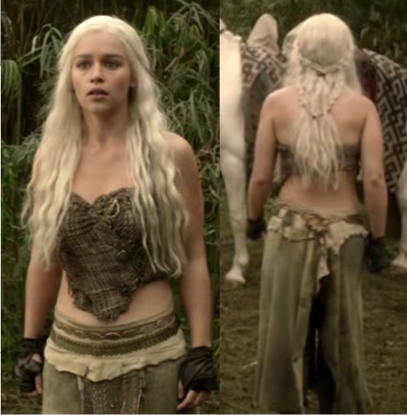 GAME OF CLOTHES: Daenerys Targaryan: Part 1  GAME OF CLOTHES...