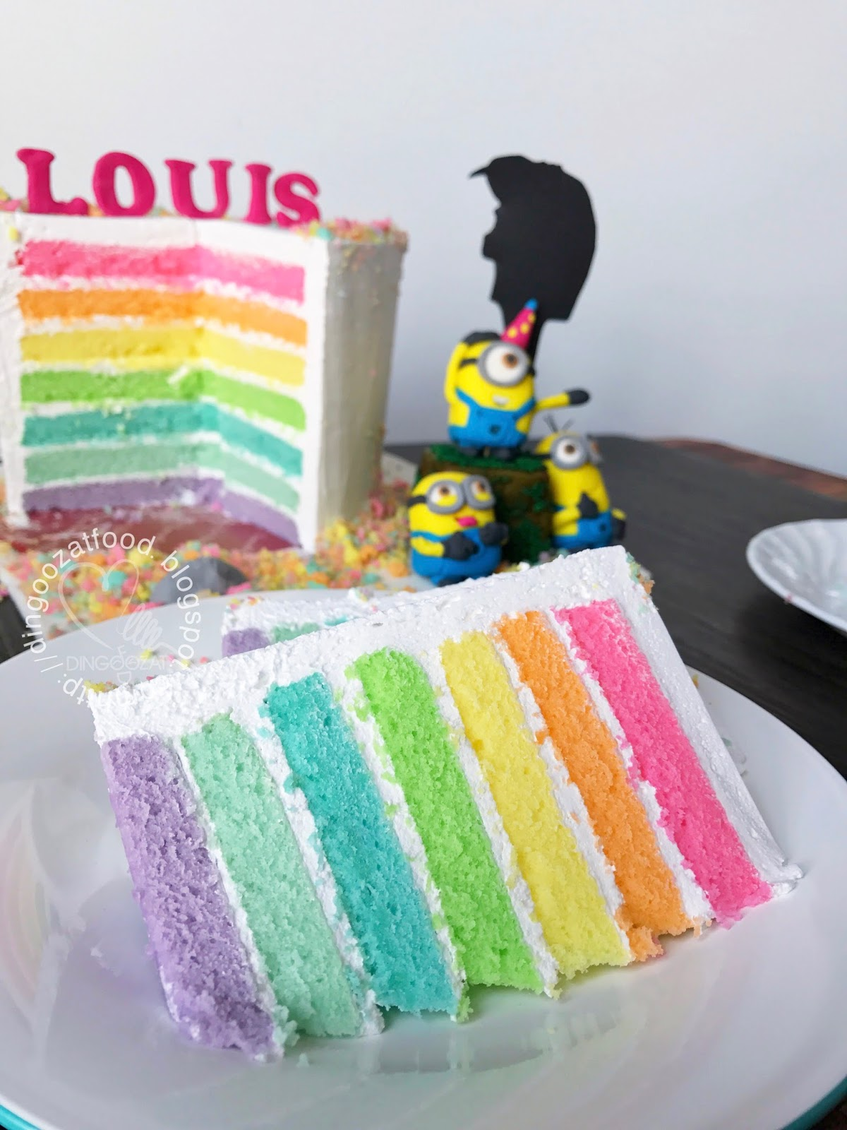 Mikis Food Archives Minions Despicable Me Theme Rainbow Birthday