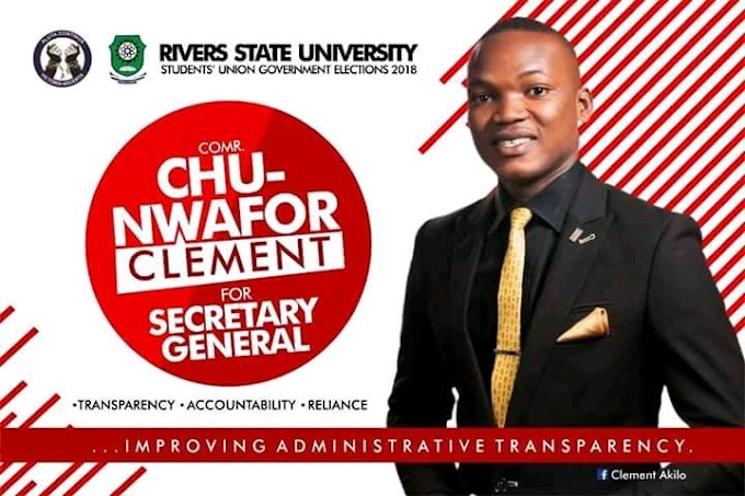 SUG ASPIRANT_CHU_NWAFOR_CLEMENT.INTERVIEWED  LIVE ON NET.