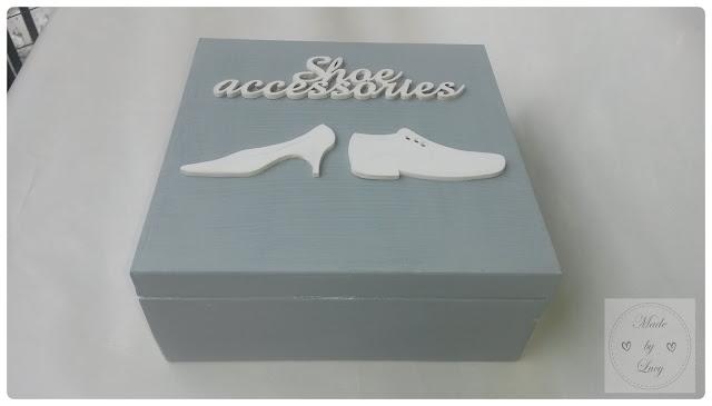 Skrzynka na akcesoria do obuwia
