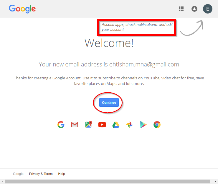 welcome-to-your-new-google-acount
