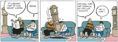Dirk Jan verzet de klok