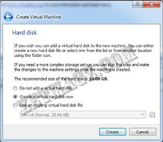 Cara install ubuntu server 16.04 LTS di Virtualbox part 1