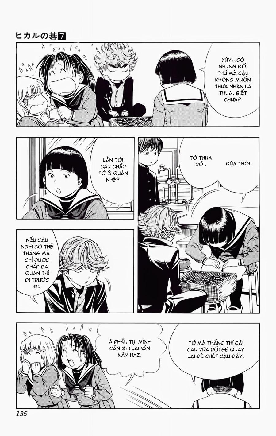 Hikaru No Go hikaru no go chap 57 trang 20