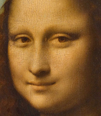 Efeito sfumato no quadro Mona Lisa