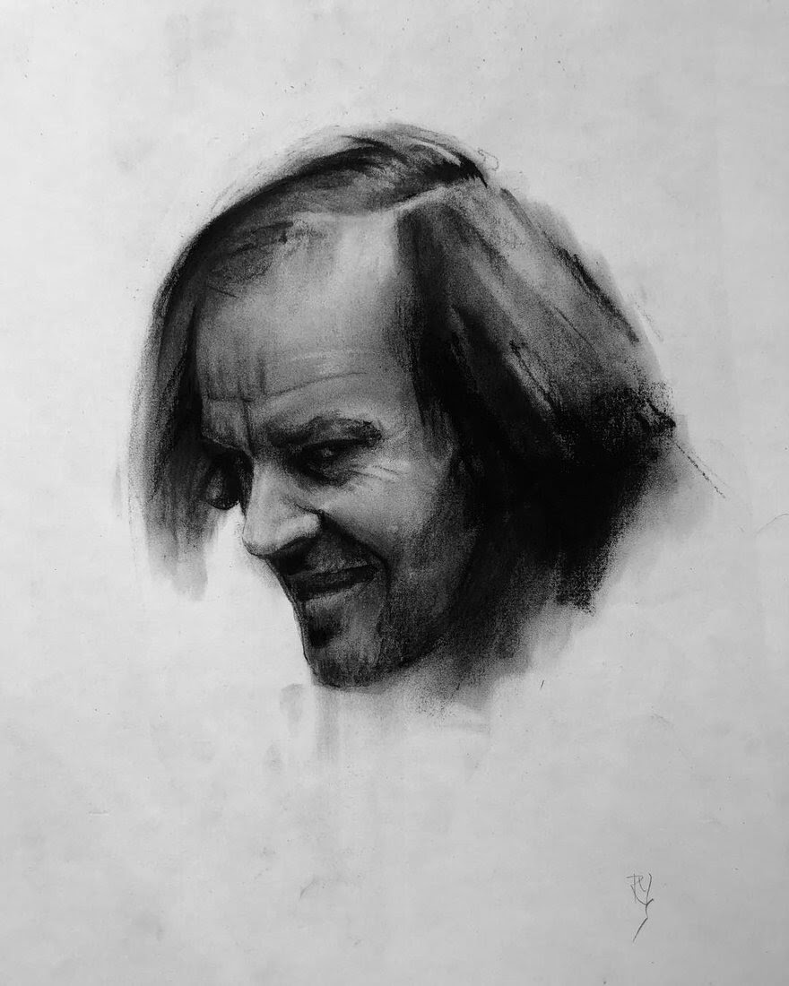 02-Jack-Nickolson-Rick-Young-Celebrity-and-More-Charcoal-Portraits-www-designstack-co