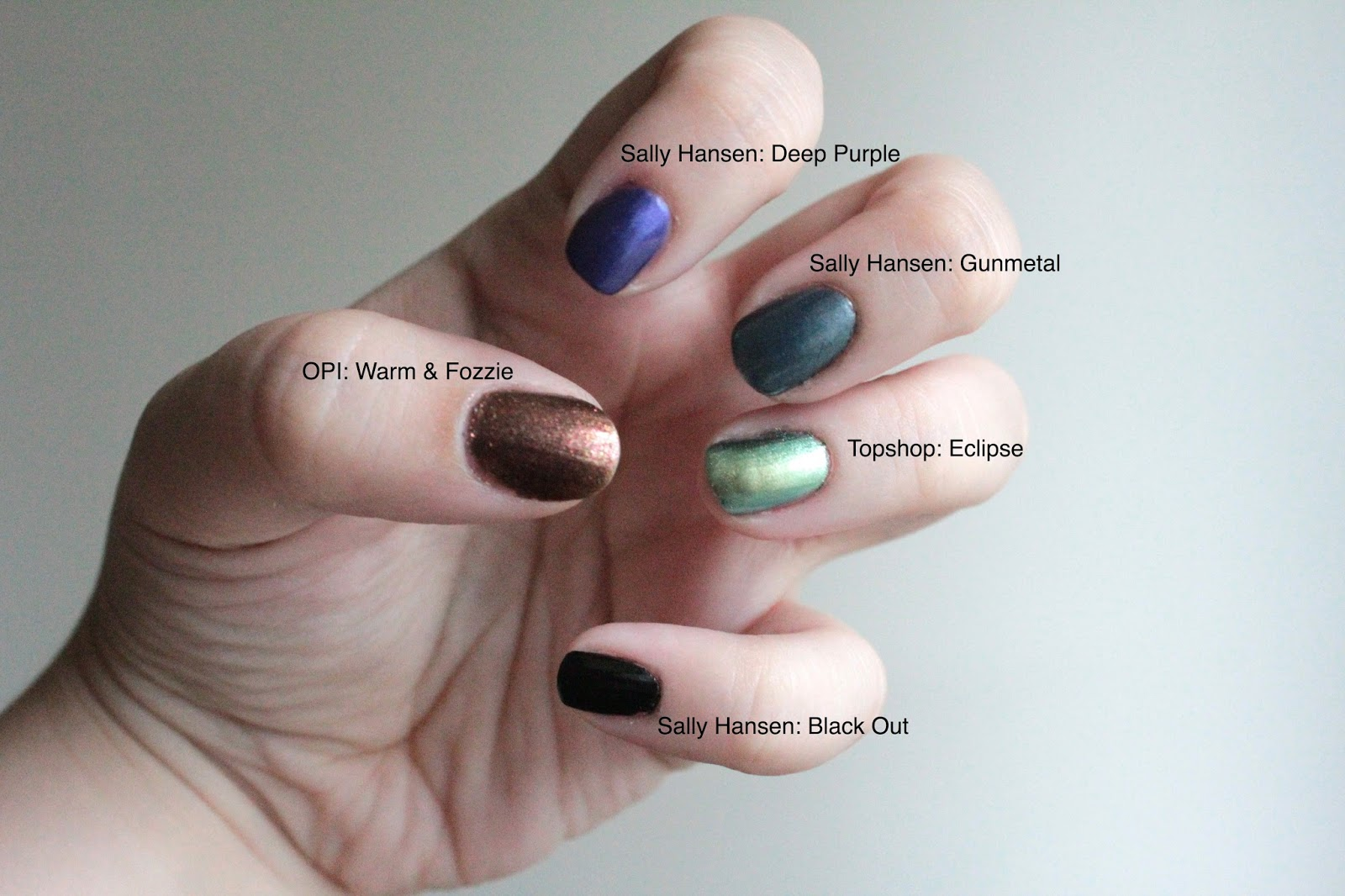 Couture Macaroon: Top 10 Nail Polishes for Fall (with swatches)