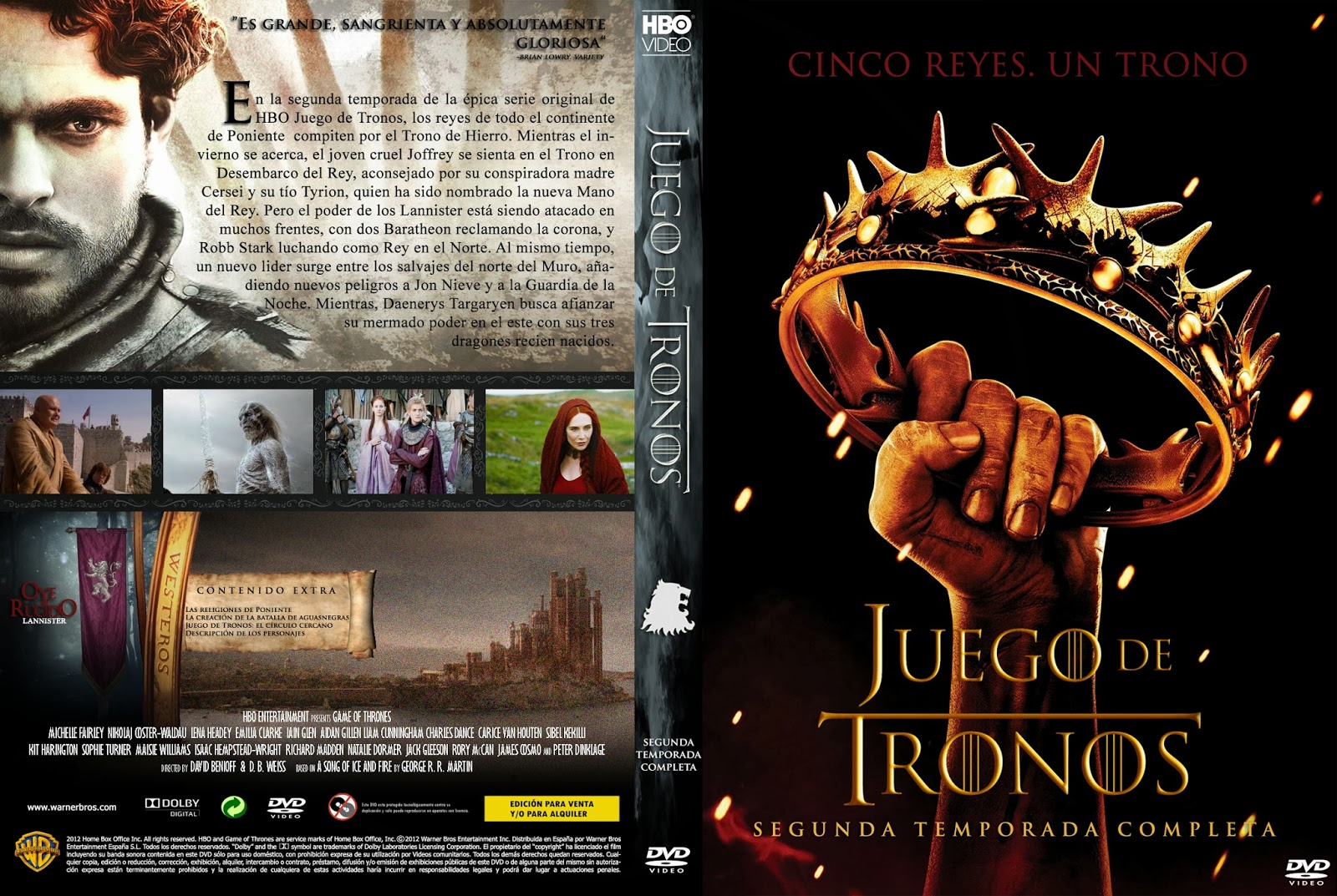 Game of Thrones juego de tronos 2 temporada