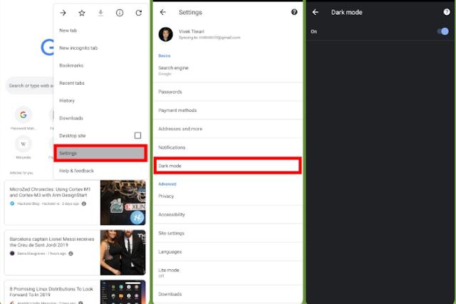 Cara Mudah Mengaktifkan Mode Gelap di Chrome untuk Android 2