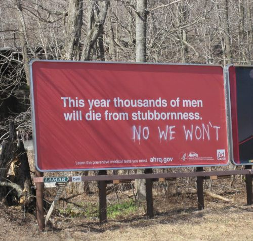 Funny sign stubborn