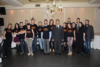 Εθελοντές 6ου Δείπνου στο Σκοτάδι στην Αθήνα