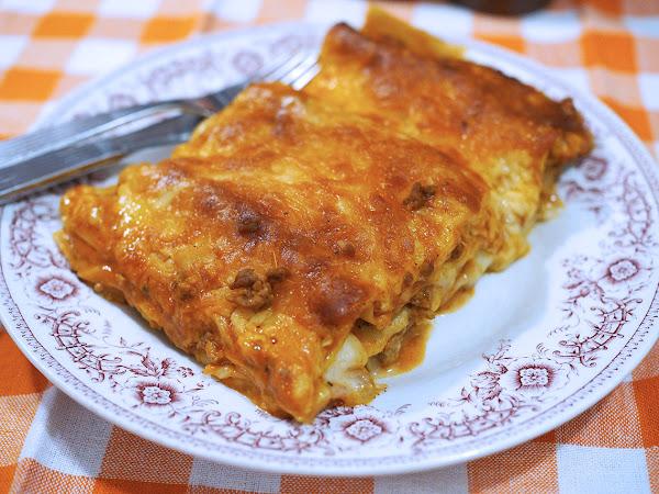 Mikin paras ja iso lasagne, myös kasvisversiona