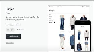 install theme foe shopify store