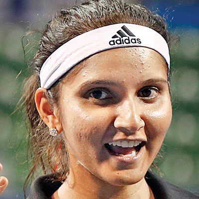 Sania Mirza is an Indian world famous tennis player