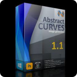 تحميل ABSTRACTCURVES مجانا لصناعة الخلفيات والملصقات  مع كود التفعيل