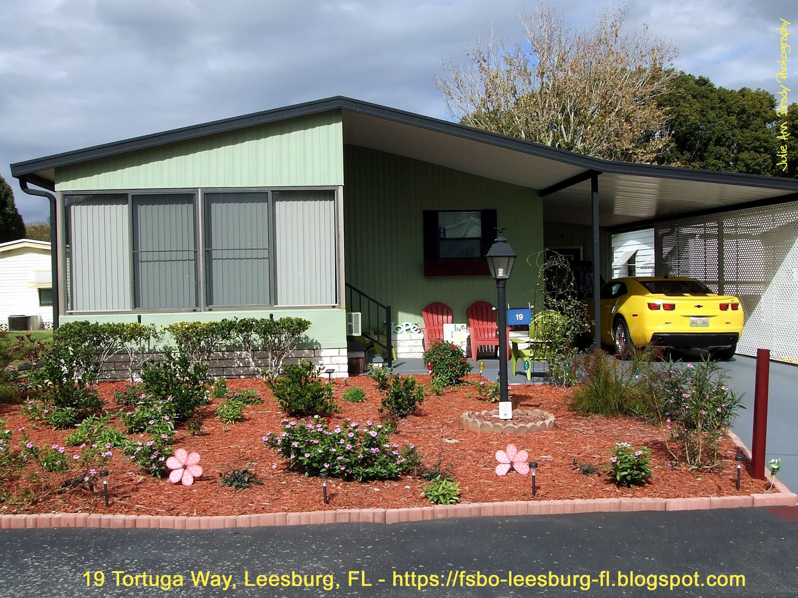 Julie Ann Brady : Blog On: Creating Curb Appeal With A Garden