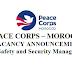 هيئة السلام الأمريكية بالرباط: توظيف مسؤول عن حماية وأمن المتطوعين بهيئة السلام بالرباط، آخر أجل هو 14 فبراير 2018
