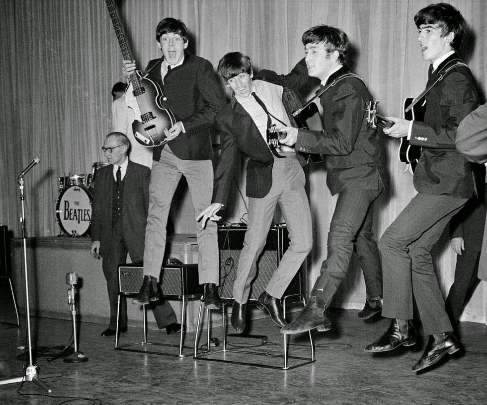 Beatles Битлз рок-н-рол
