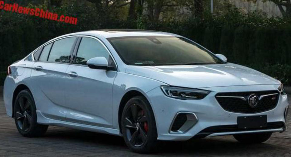 Car Brands That Start With H >> V6-Powered Buick Regal GS Leaks In China