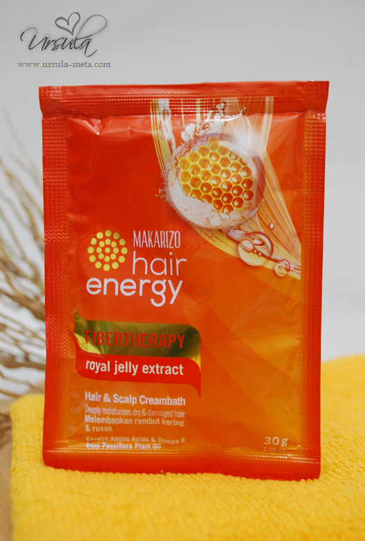 Review Makarizo Hair Energy Fibertherapy Hair Scalp Creambath Ursula Meta Rosarini