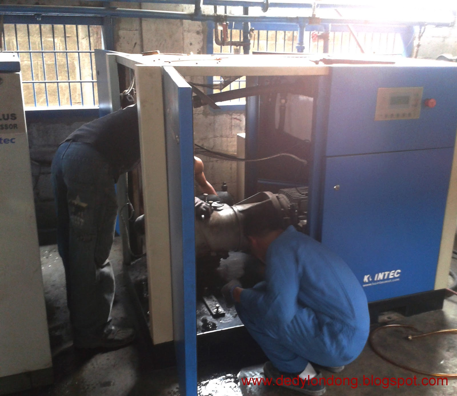 Mengatasi Overheating Pada Screw Air Compressor