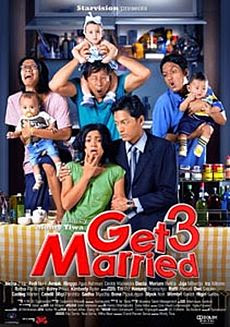 Poster Film Get Married 3