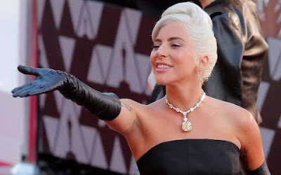 Lady Gaga Wore A Necklace Worth 30 Million Dollars in 2019 Oscar