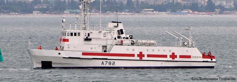 Санітарний катер ВМСУ Сокаль готовий до COVID-19