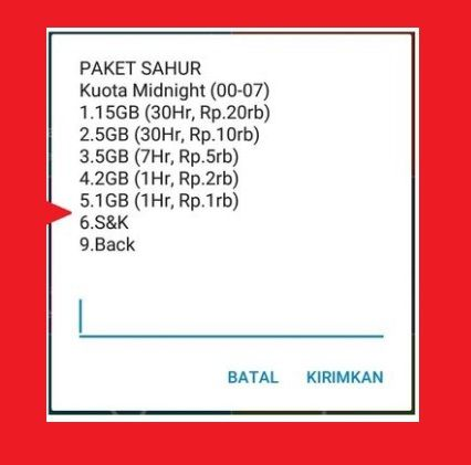 1 Hr Photo >> Paket Internet Murah Telkomsel Paket Sahur Kuota Berlimpah