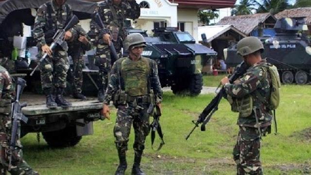 الجيش الفلبينى يهزم المتمردين وعودة مدينة ماراوي الي سيطرة الجيش