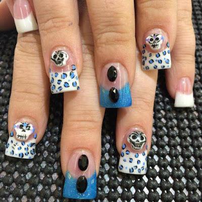Floral Fantastic ,Mylar Nails Art Ideas