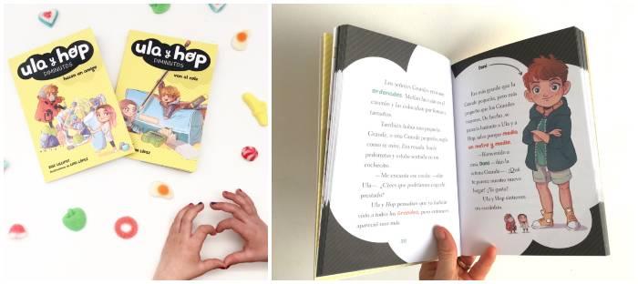 Libro colección primeros lectores Ula y Hop diminutos