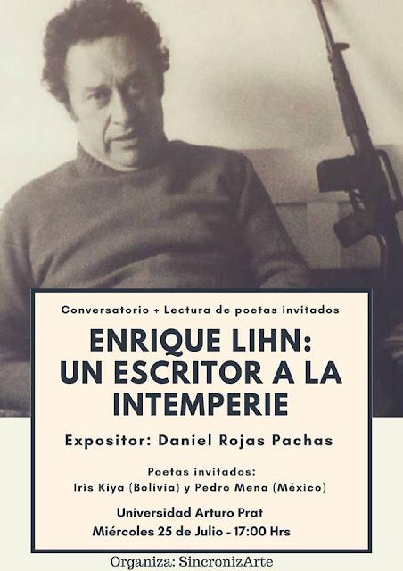 Enrique Lihn: un escritor a la intemperie / Charla sobre la obra de Enrique Lihn en Iquique en la Universidad Arturo Prat
