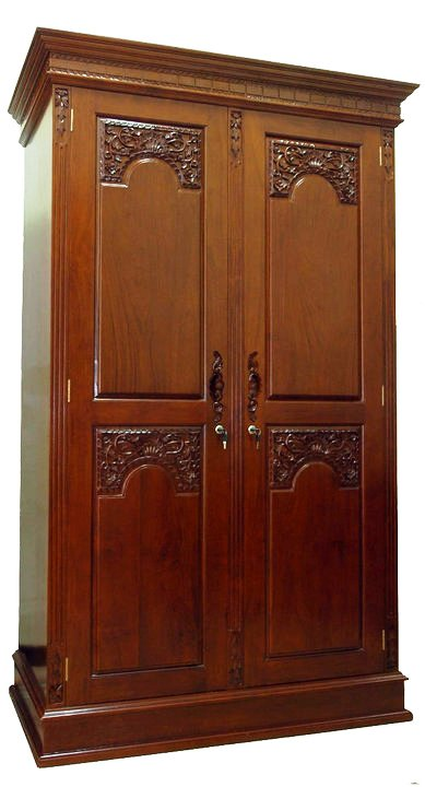 Almari Pakaian Majapahit 2 Pintu